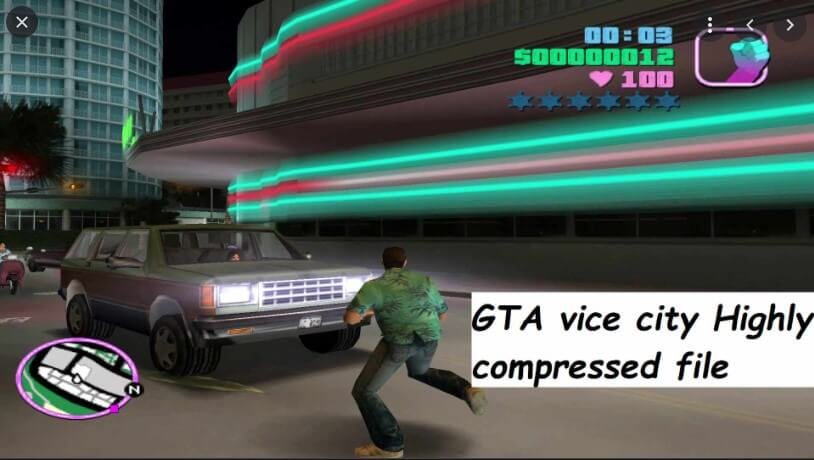 GTA Vice City Highly Compressed For PC Free Download (290 MB)